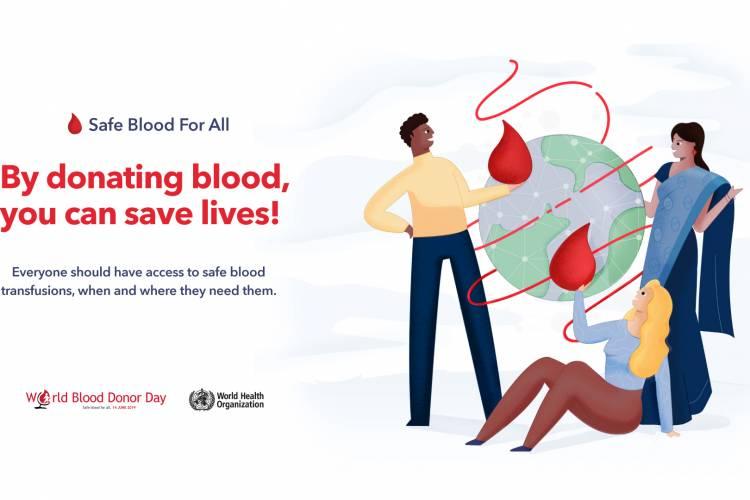 Svjetski dan dobrovoljnog davanja krvi, 14. lipanj