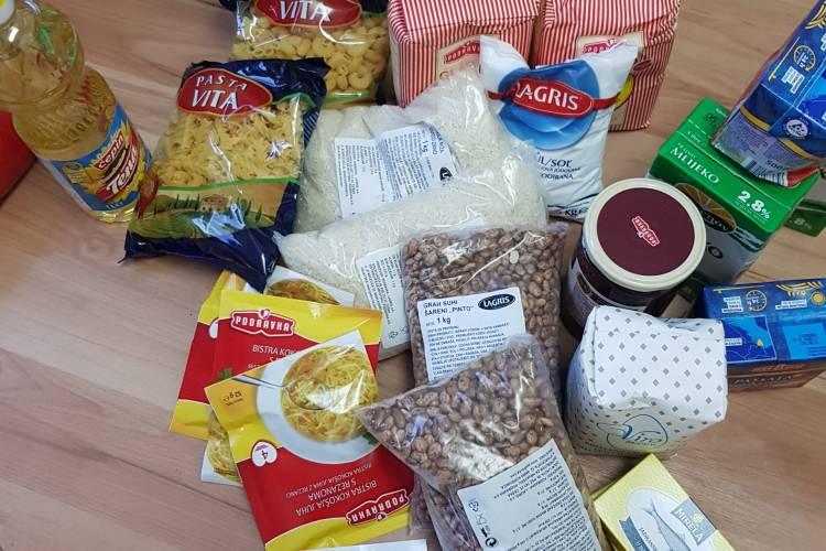 """FEAD projekt """" Humanitarni paket za sjevernu Hrvatsku"""""""