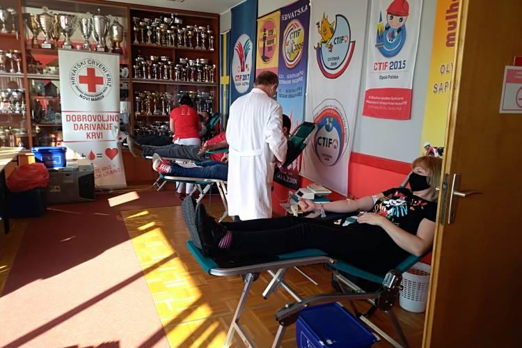 Održane prve ovogodišnje akcije dobrovoljnog davanja krvi u Novom Marofu – prikupljeno 109 doza krvi