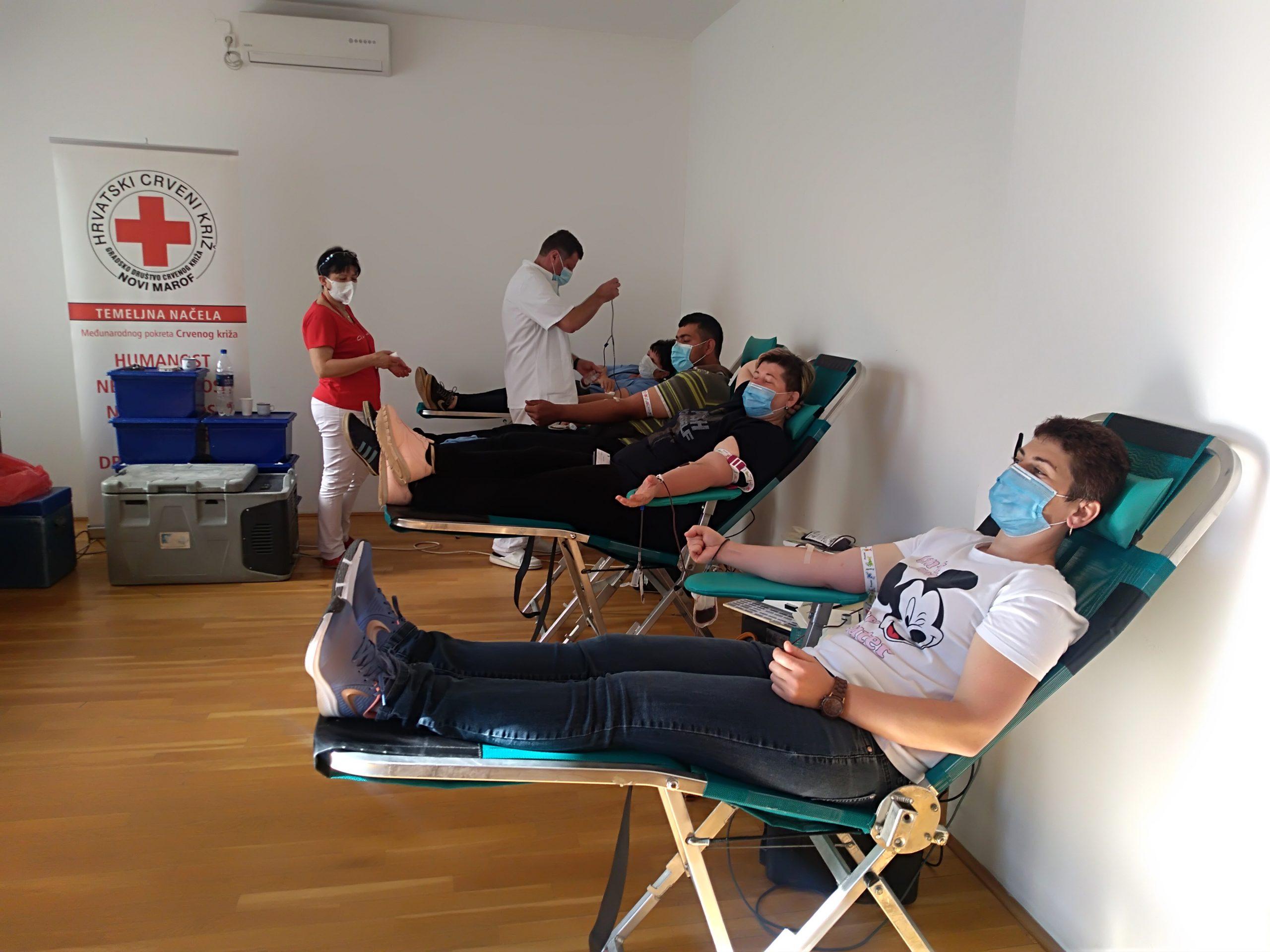 Akcija dobrovoljnog davanja krvi u Varaždinskim Toplicama_ prikupljene 52 doze krvi